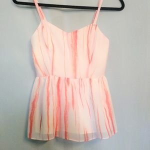 Guess Tops - Guess Peplum Camisole Top XS